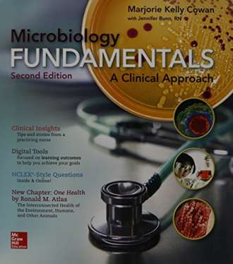 Microbiology Fundamentals: A Clinical Approach (2nd Edition) – Testbank