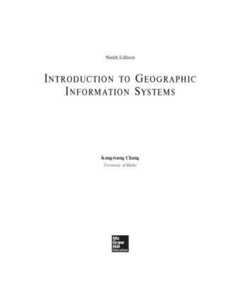 Introduction to Geographic Information Systems (9th edition)