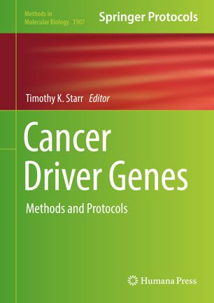 Cancer Driver Genes: Methods and Protocols