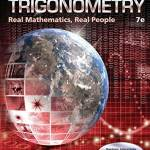 Algebra and Trigonometry: Real Mathematics; Real People (7th Edition) – Solutions & Testbank