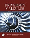 University Calculus; Early Transcendentals (4th Edition)