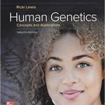 Human Genetics (12th Edition) – Ricki Lewis
