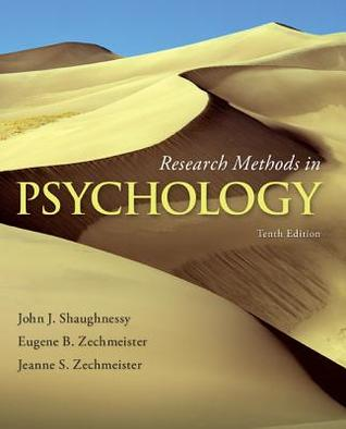 Research Methods In Psychology (10th Edition)