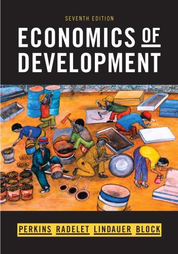 Economics of Development (7th Edition)