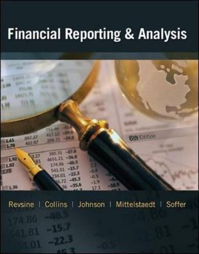 Financial Reporting and Analysis (6th Edition)