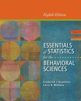 Essentials of Statistics for the Behavioral Sciences (8th Edition)
