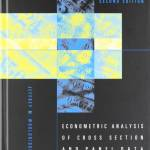 Econometric Analysis of Cross Section and Panel Data (2nd Edition)