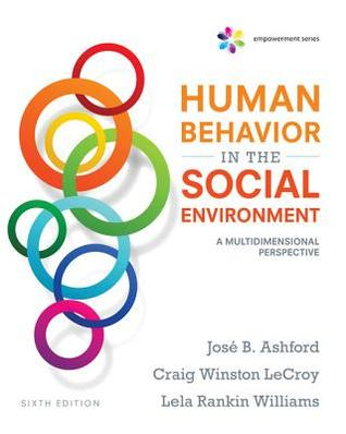 Human Behavior in the Social Environment: A Multidimensional Perspective (6th Edition)